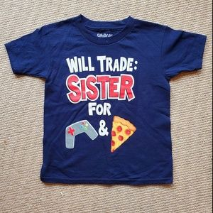 Funny T shirt for brother or sister NWOT sz XS 4-5